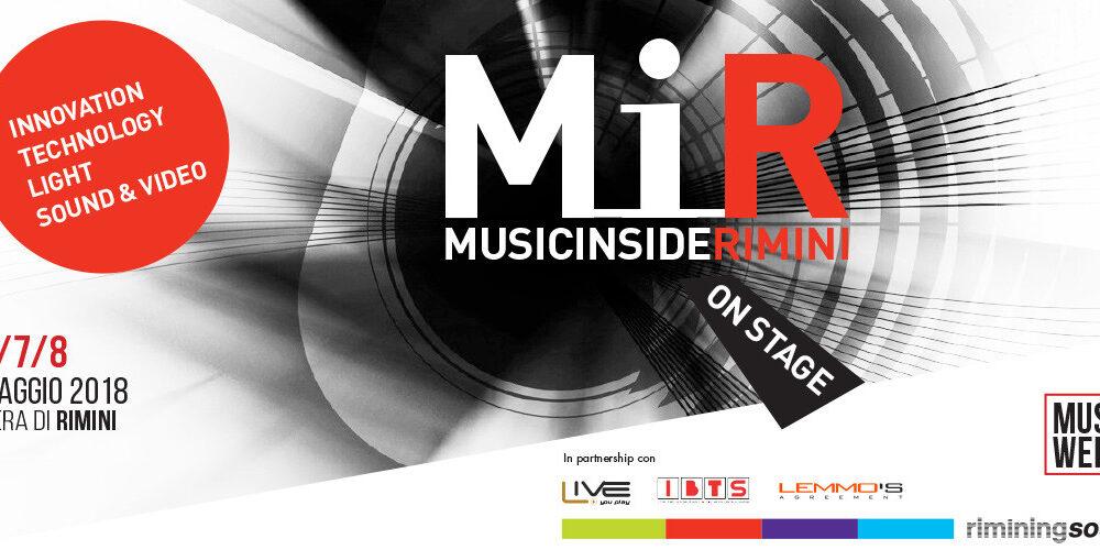 MiR: Music inside Rimini Lan audio Lanaudio news magazine sound service Italy