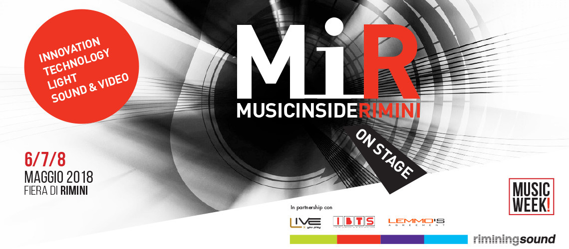 MiR: Music inside Rimini Lan audio Lanaudio news magazine sound service Italy